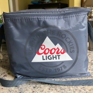 Coors Light Cooler & Merch